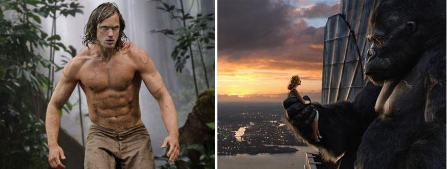King Kong Meets Tarzan